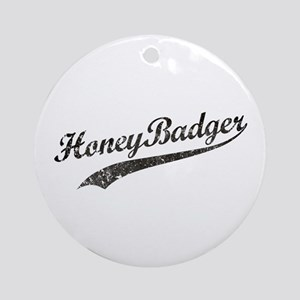 Team Honey Badger [b/w] Ornament (Round)